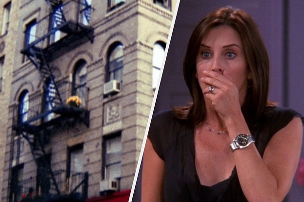 """Courteney Cox Posted An Insta Video In Front Of The """"Friends"""" Apartment Building And It Will Give You So Many Feels"""
