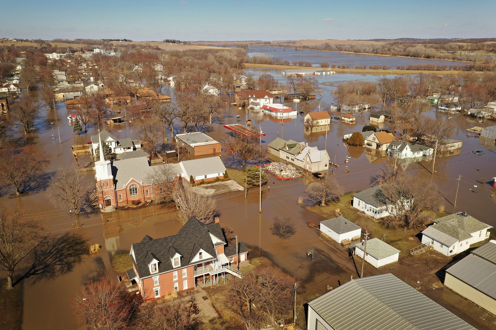 Forecasters Warn Flooding Could Be The Worst On Record In Much Of The US This Spring