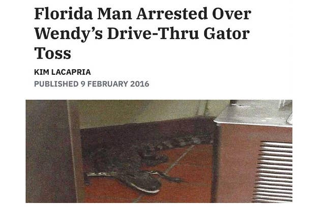 The 101 Most Insane Things That Have Ever Happened In Florida