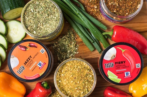 Tasty Just Launched A Spice Kit And Your Taste Buds Are Not Ready