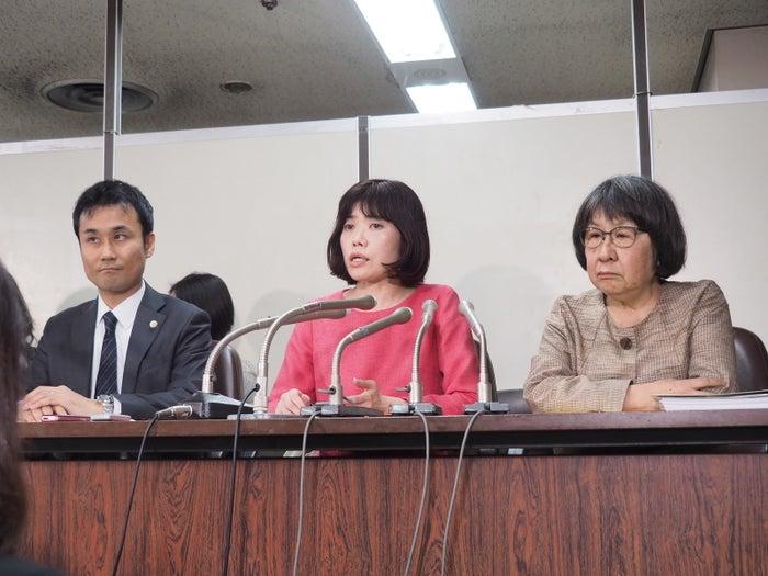 3月22日に会見した「医学部入試における女性差別対策弁護団」