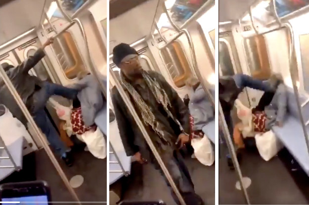 NYPD Arrests Man Filmed Kicking Woman In The Face On The Subway