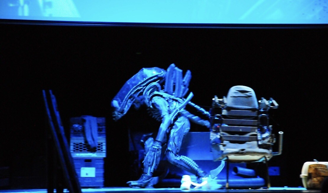 """This New Jersey High School Put On The Wildest Production Of """"Alien."""" Yes, """"Alien."""""""