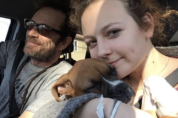 Luke Perry's Daughter Posted A Beautiful Photo Of Them Together