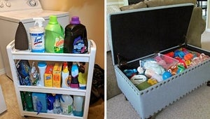 47 Ridiculously Clever Ways To Store Anything And Everything