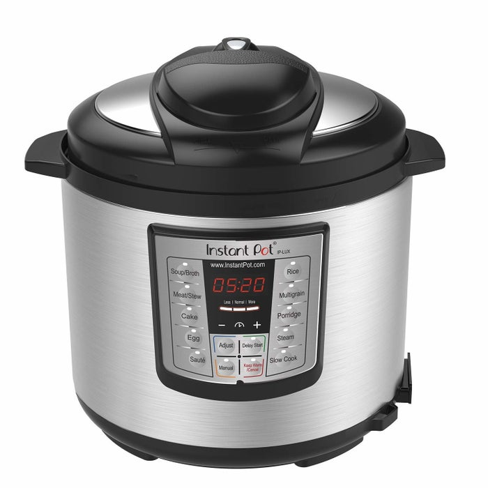"""""""Holy crap y'all. The instant pot. I got it as a wedding gift, and it sat in its box for months. I recently pulled it out to try a soup recipe and it cooked frozen chicken in 30 minutes! This thing does everything, and you only have to clean one pot. You can sauté, steam, cook rice, and even can fruits with it.""""— chelseaj4b77516a5Get a six-quart instant pot on Amazon for 21 recipes you can make in it."""