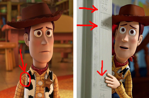 """25 Easy-To-Miss Details That Prove The """"Toy Story"""" Movies Are Masterpieces"""