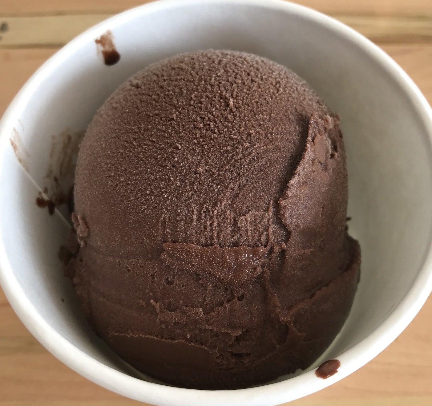 What's in it: A vegan, dairy-free sorbet of dark dark chocolate and Russian Imperial stout beer.