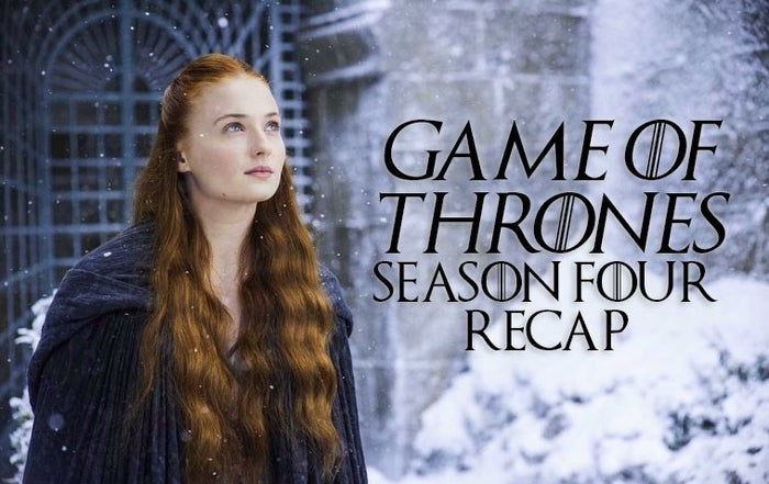 In preparation of Season 8 of Game of Thrones, I'm rewatching and recapping every season that's come before. Check out previous rewatches here – but now, on to Season 4...