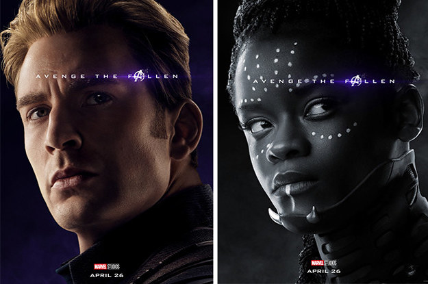 "These ""Avengers: Endgame"" Posters Confirm Who Didn't Survive The Snap And I'm Emotional"