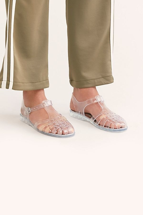 00e3afff6e 16. Jeffrey Campbell jellies that ll bring you right back to your younger  days. Get ready to head to your nearest swing set to enjoy the almost-summer  ...