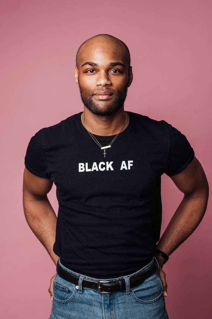 bab29d2b5 A shirt that'll let everyone know you are BLACK AF at all times.