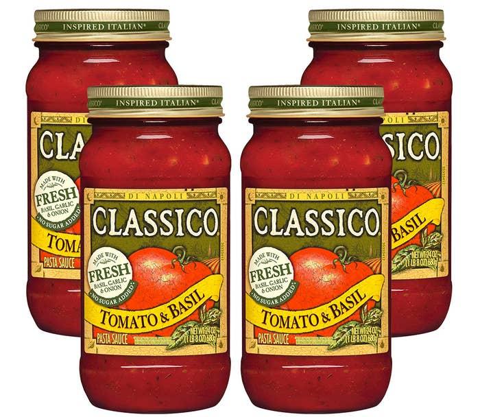 Price: $8.13 for four 24 oz. jars