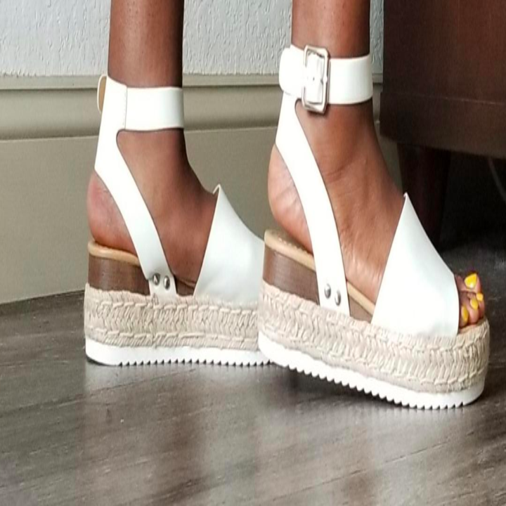 64056261e8 A pair of rubber sole platform espadrilles for a little height without any  of the discomfort — ::in my best Chandler voice:: seriously, could there be  a ...
