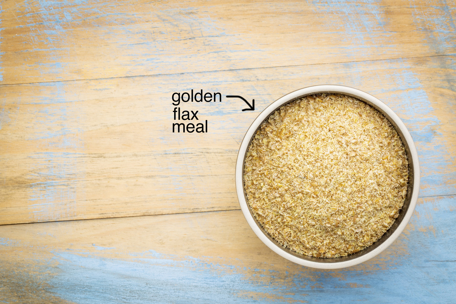 Another popular low-carb flour substitute is flax meal — which is also commonly used as an egg replacer in baked goods. Experienced bakers recommend sticking to golden flax meal as it has a slightly less gummy texture compared to regular flax meal. Again, with any gluten-free flour substitute, stick to recipes that are specifically designed to be made with it and don't swap it into recipes that call for wheat flour.Learn more about baking with flax meal.