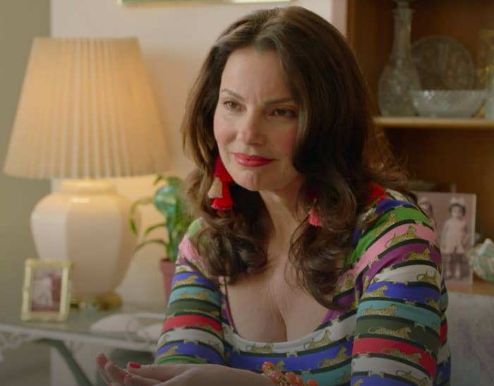 Fran Drescher in a Season 4 episode of Broad City.