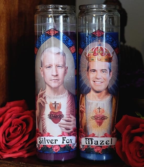 the prayer candles