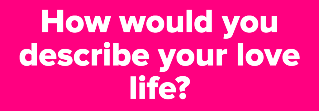 Quiz: Which Movie Title Describes Your Love Life?