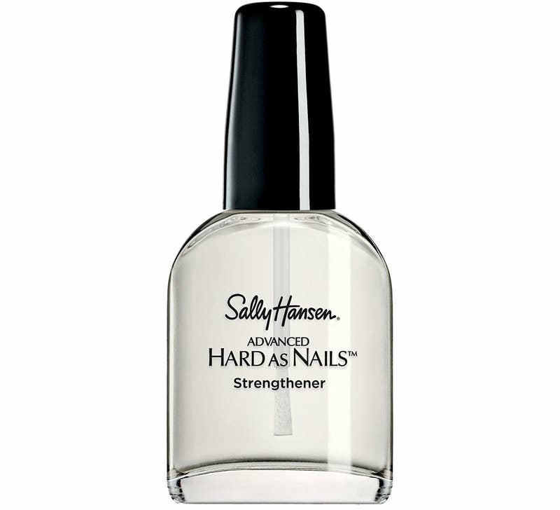 "This product is formulated without parabens, phthalate, and aluminum.Promising review: ""First off, I'm a firm believer that everyone has slightly different nails. A brand one person swears by may not work at all for someone else. That said, this was magic. I've had naturally long, strong nails for years now, and they're the only 'beauty' thing I really pay much attention to. Four months ago, they started peeling and cracking and breaking off, and the ends hurt. I tried all the major brands' strengthening and hydrating products, I tried oiling, I tried just keeping them short and wearing gloves. I spotted this and figured it couldn't hurt to try. It was an overnight difference — my nails are as good or better than they ever were. I'm truly stunned."" —c lockeGet it from Target for $3.49 or Amazon for $4.93."