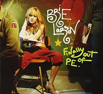 So Brie released a STELLAR album in her youth called  Finally Out of P.E .