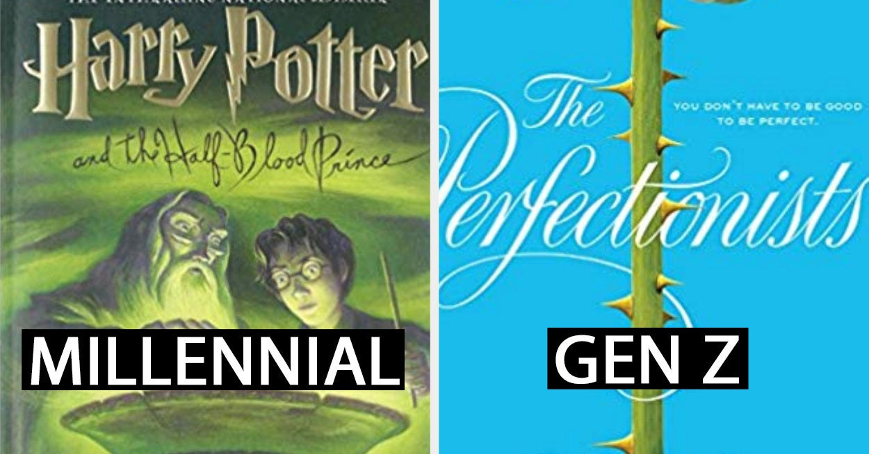 This Book Quiz Will Separate The Millennials From The Gen Z'ers