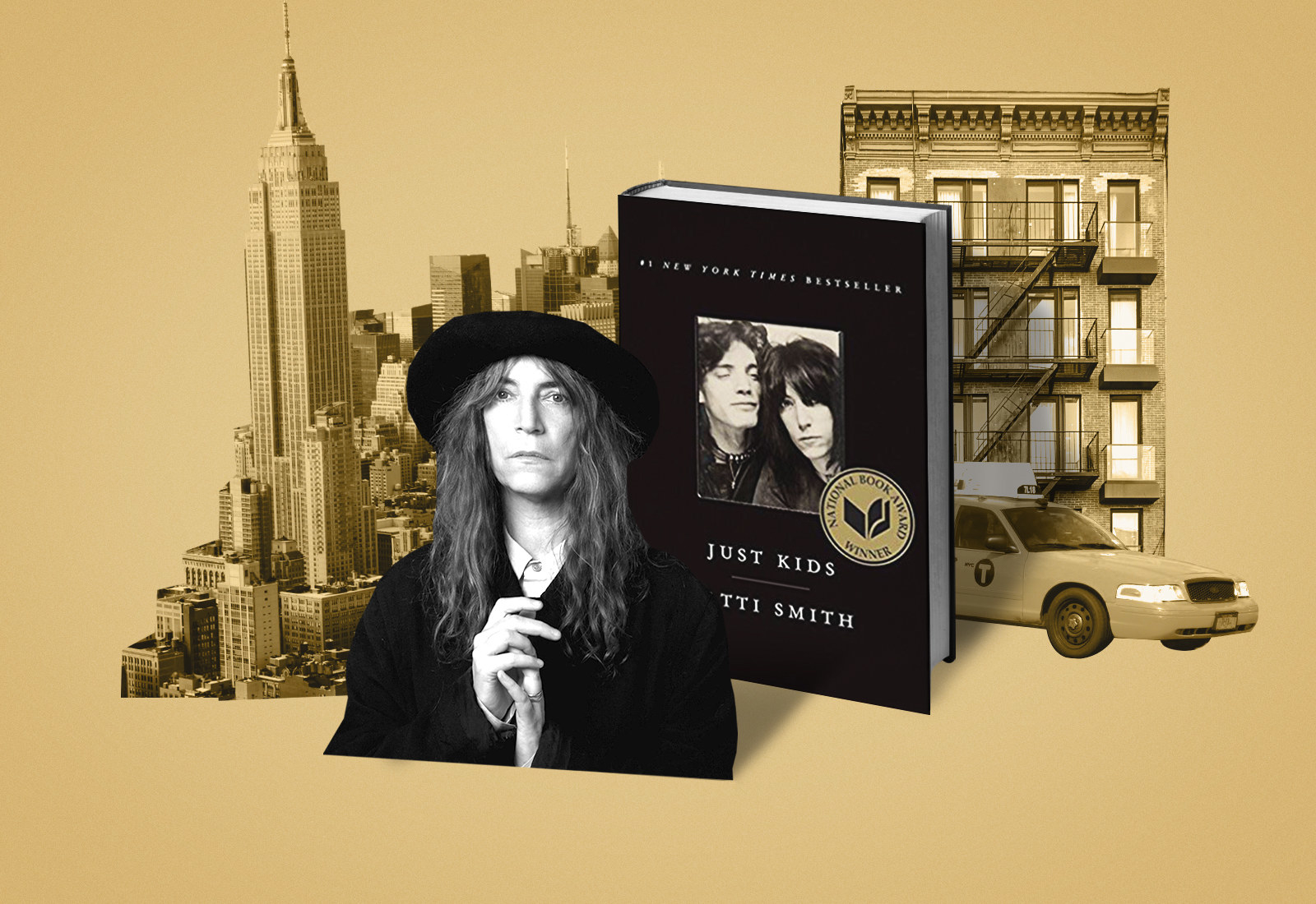 """Patti Smith's """"Just Kids"""" Is In The Running To Be New York City's Summer Book. Read An Excerpt Here."""