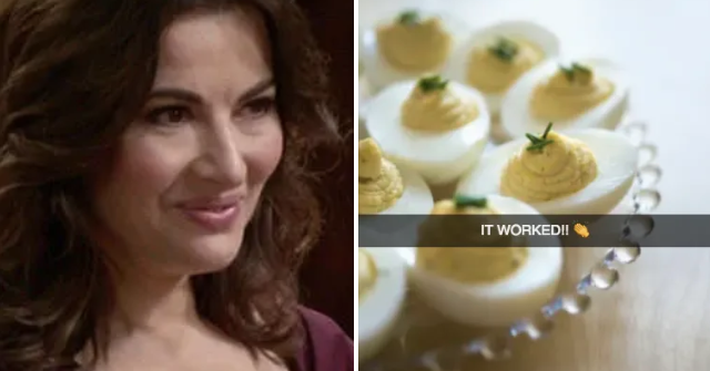 Nigella Lawson Has A Weird Hack For Centering Egg Yolks That's Kinda Genius