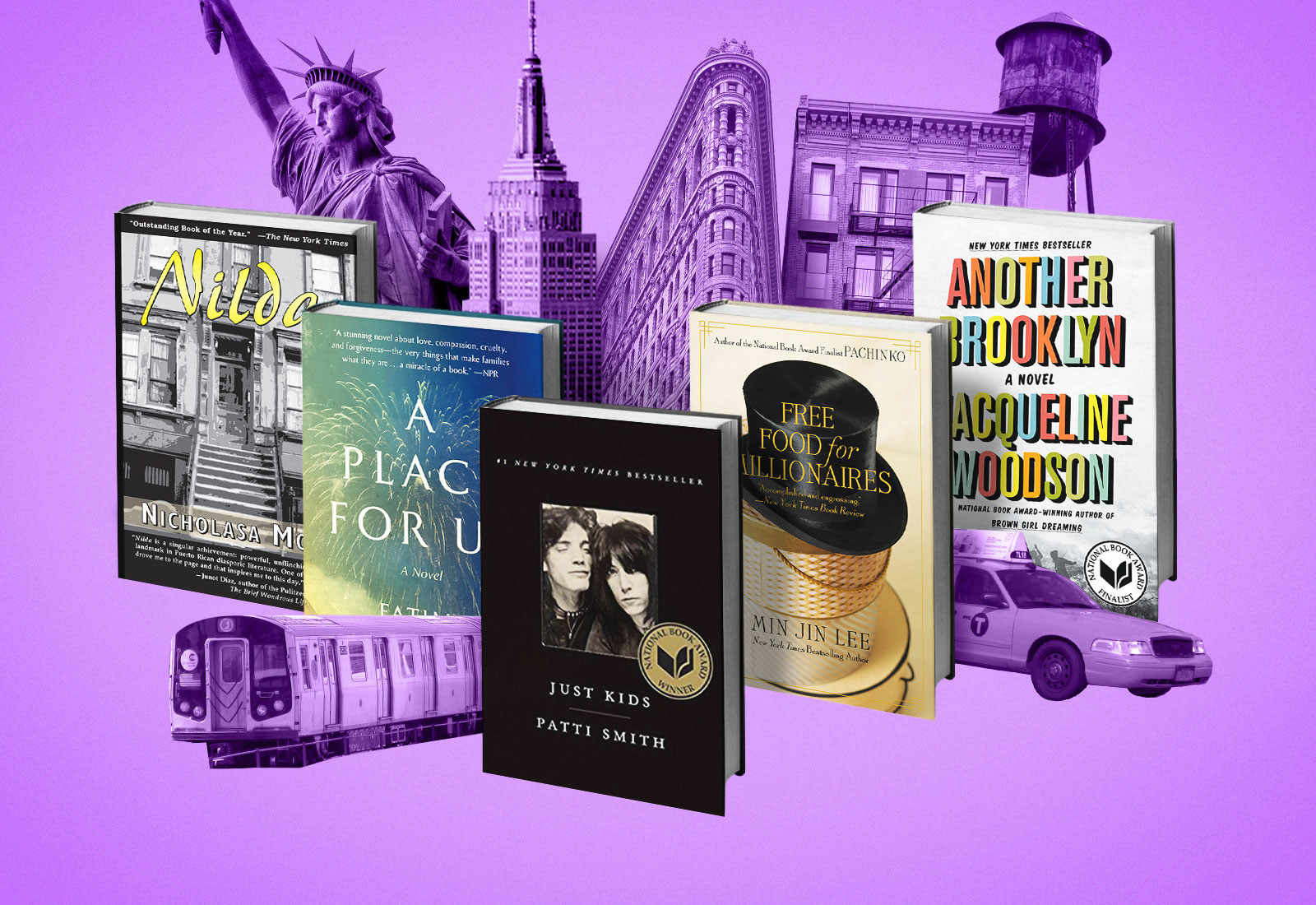 """These Are The 5 Books Chosen For The 2019 """"One Book, One New York"""" Program"""