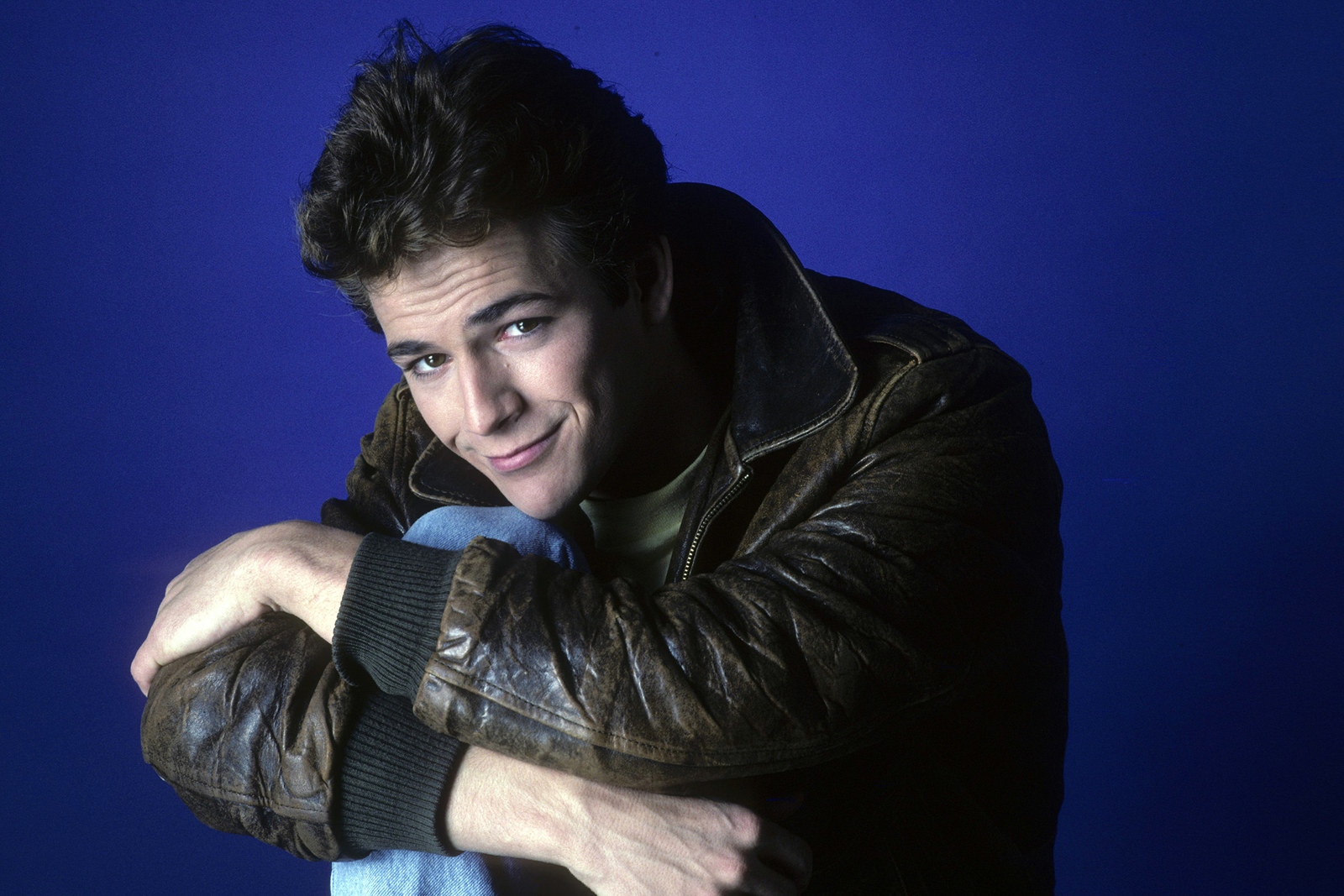 Luke Perry on March 30, 1987.