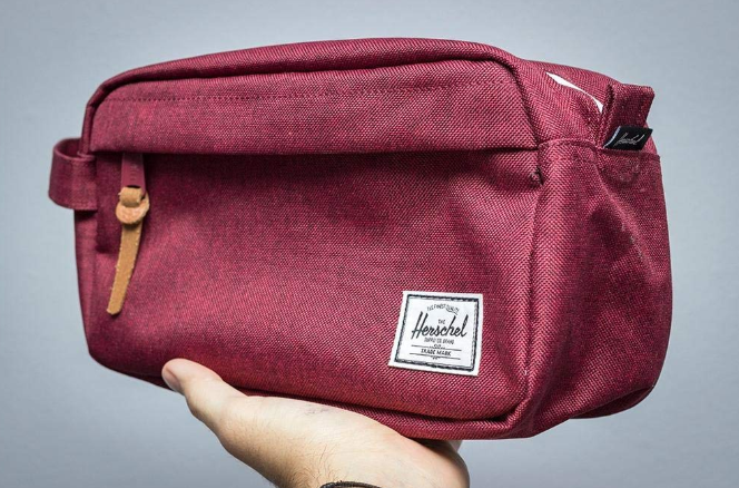 2d45b0c7ed1a A Herschel travel kit with an interior mesh storage sleeve that ll fit  everything you need for your upcoming trip.
