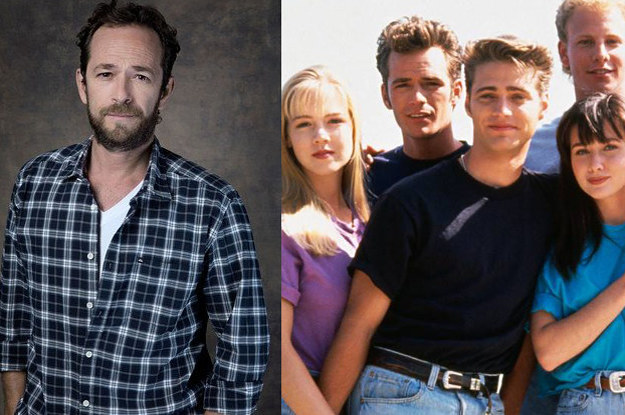 Celebs Are Grieving The Passing Of Luke Perry, An Original 90210 Cast Member