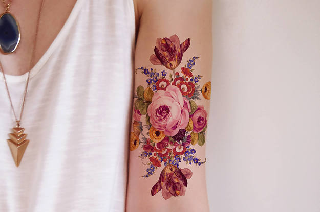 48 Temporary Tattoos You Ll Want On Your Body Immediately