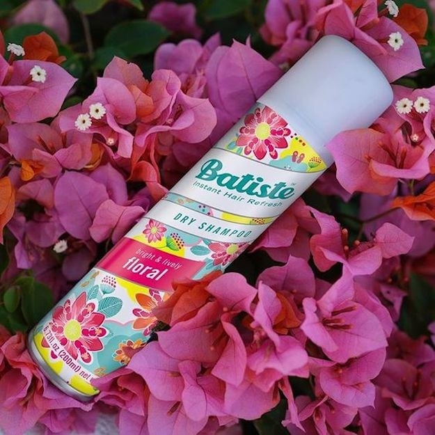 """""""Batiste dry shampoo, beyond a doubt! The scents smell absolutely amazing, it gives your hair nice body, and you save major time with hair drying. It's a life saver in the winter time."""" —fluffernutterkittyCheck out why this won best inexpensive dry shampoo on BuzzFeed Reviews! . Get it from Amazon for $6.49."""