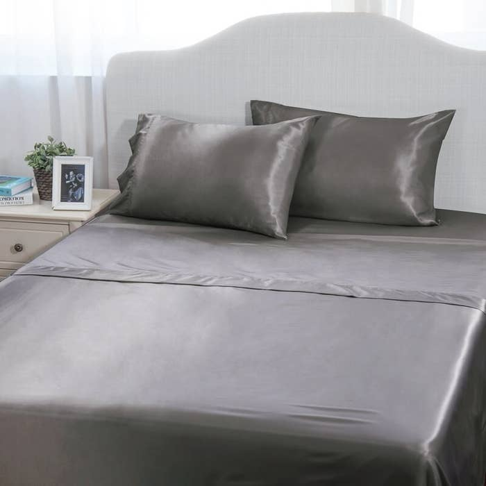 A Set Of Satin Sheets To Keep You Cool On Even The Hottest Nights May Not Ever Want Leave Your Bed