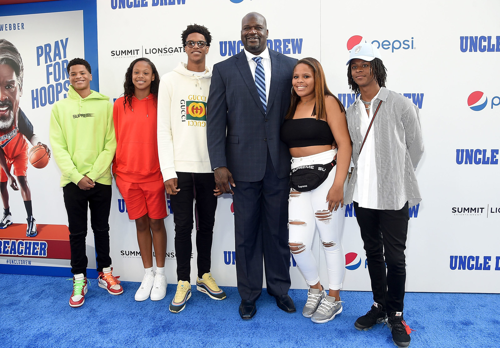 Shaq: 5 kids -  Cute family.