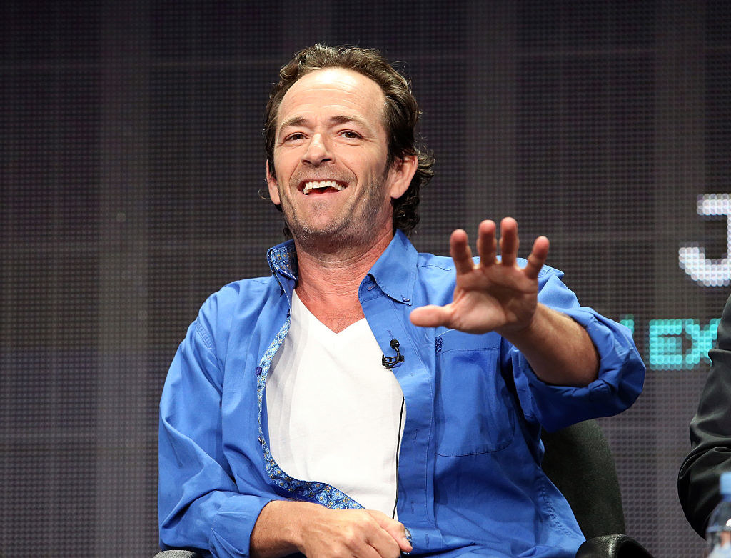 Yesterday, beloved  Beverly Hills, 90210  and  Riverdale  actor Luke Perry  died  after suffering a massive stroke.