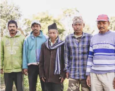 チトワン国立公園周辺の住民ら