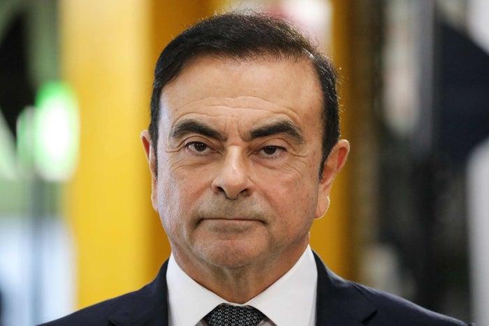 カルロス・ゴーン被告(2018年11月8日)