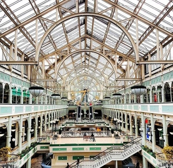 Completed in 1988, St Stephen's Green Shopping Centre is an architectural delight. Despite only being 30 years old, the glass and iron design allows it to blend seamlessly with its Victorian and Georgian surroundings! The perfect place to get an insta snap and pick up some souvenirs!