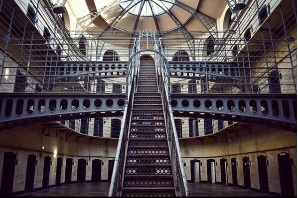 150,000 inmates passed through Kilmainham Gaol between 1796 and 1924. Some were rebels, executed by firing squad. Others, starving thieves sent to the gallows or Australia. Touring the old prison is one of Dublin's most popular attractions!