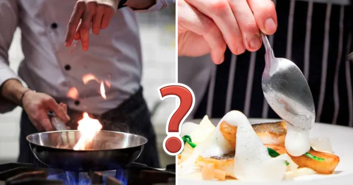 If You Were A Pro Chef, What Would You Be Like?