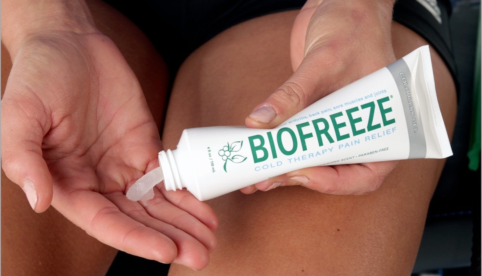 "Promising review: ""Biofreeze is a great product for aches and pains. My massage therapist recommended it years ago and I've been a dedicated customer ever since. Anytime I'm tense or have a knot in my neck or back I use it. It really helps to relax the area and allows me to work out the problem areas. My husband uses it for chronic back pain to cool the area and help him stretch out his back better."" —Sara FGet it from Amazon for $9.54."
