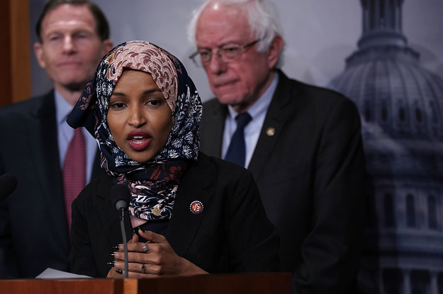 Presidential Candidates Are Defending Rep. Ilhan Omar As House Leadership Considers Rebuking Her Comments On Israel
