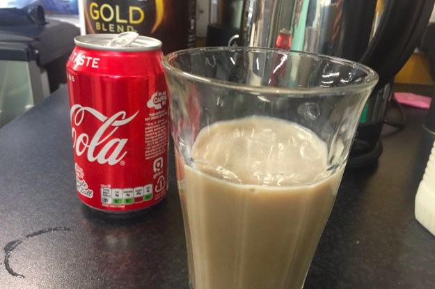 """The Newly-Discovered """"Milk Coke"""" Drink Is Sparking A Debate"""