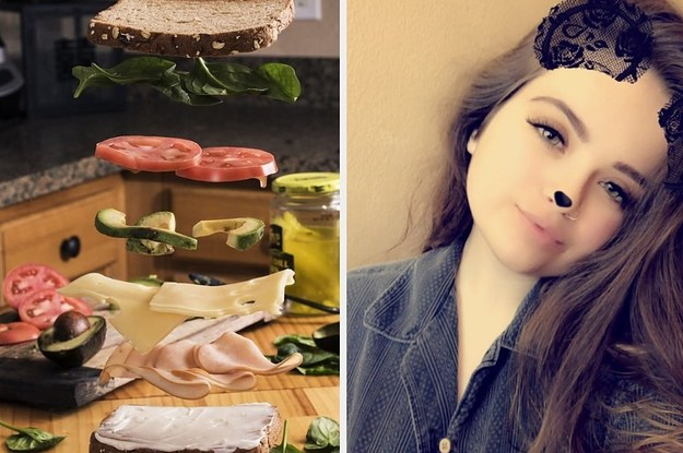 This Floating Sandwich Is An Important And Visually Appealing Contribution To The Internet