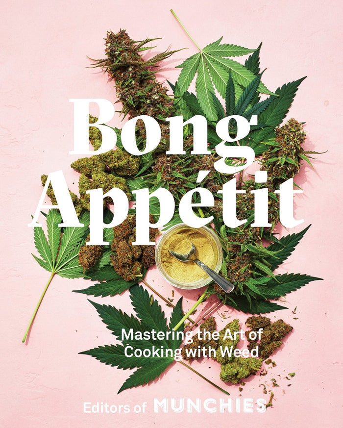 This cookbook includes drool-worthy recipes like rib-eye with weed chimichurri, raspberry peach pie, french bread pizza, and spinach artichoke dip. Your tastebuds are gonna be covered no matter where the munchies take you! Get it from Amazon for $27.