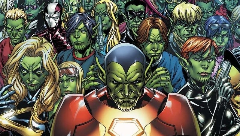 Fans believe that once we're done with the whole Thanos/Infinity Stones storyline, the Skrull invasion will be the next great story that will link up a bunch of films.