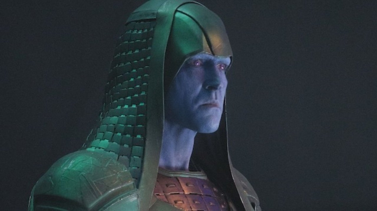 Ronan and Korath, the villains we saw in the first movie of Guardians of the Galaxy , appear in the film.