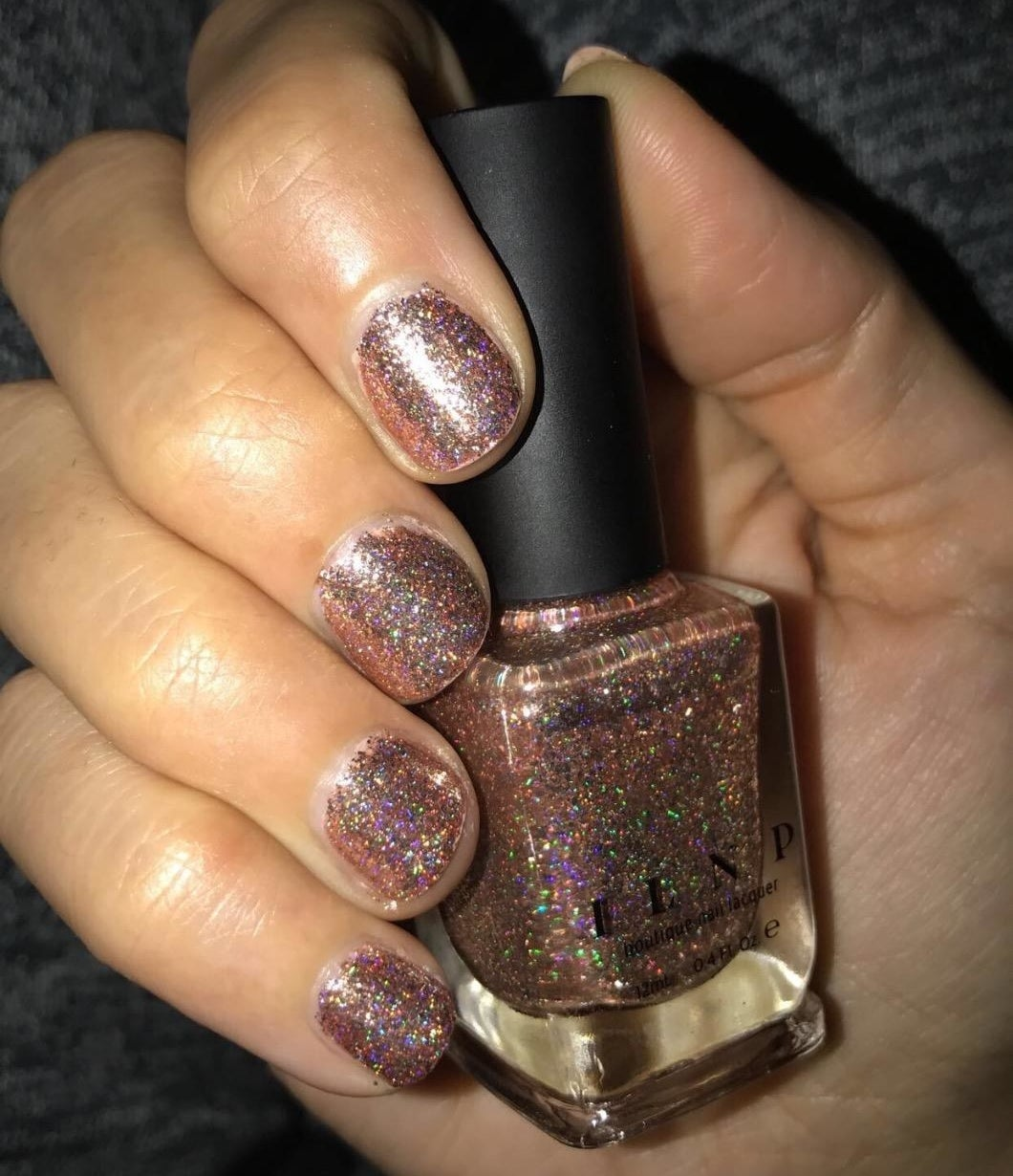 "Promising review: ""I love it! It's very opaque and you really only need one coat. It looks amazing and glittery in the light. It's such good quality as well. I'm seriously in love with this polish! It's just so beautiful and I can't take my eyes off my nails!"" —Amazon CustomerGet it from Amazon for $10."