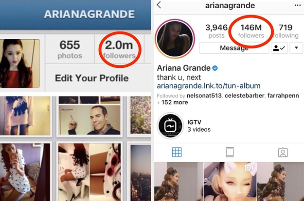 28 Ariana Grande Instagrams That Show How Much Has Changed Since 2012